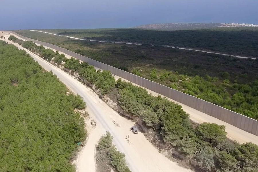 Стена между Израилем и Ливаном