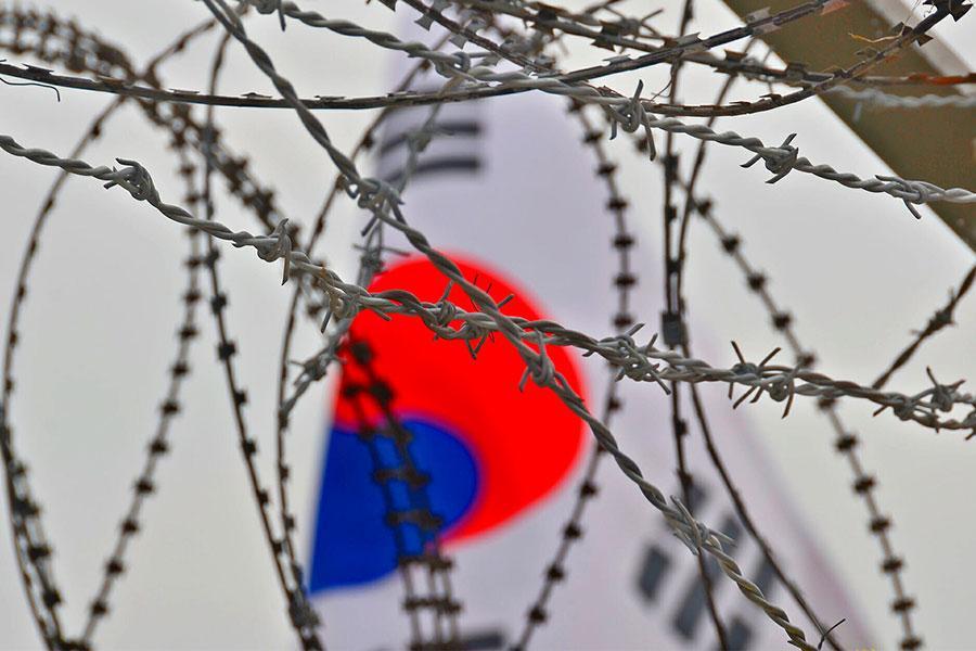 Колючая проволока на границе Южной и Северной Кореи будет снята