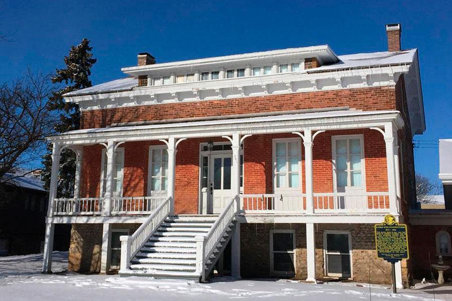 Дом Джозефа Глиддена, изобретателя колючей проволоки