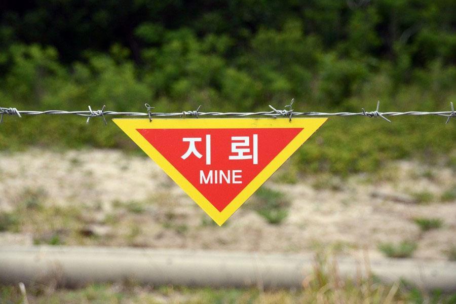 Колючая проволока и минные поля в ДМЗ – рай на земле