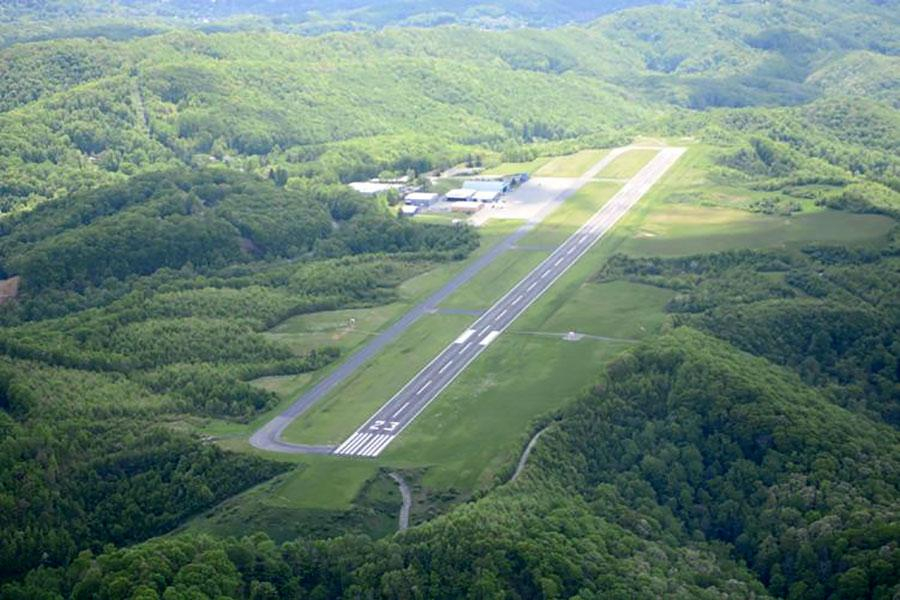 Аеропорт Мерсер захистять парканом
