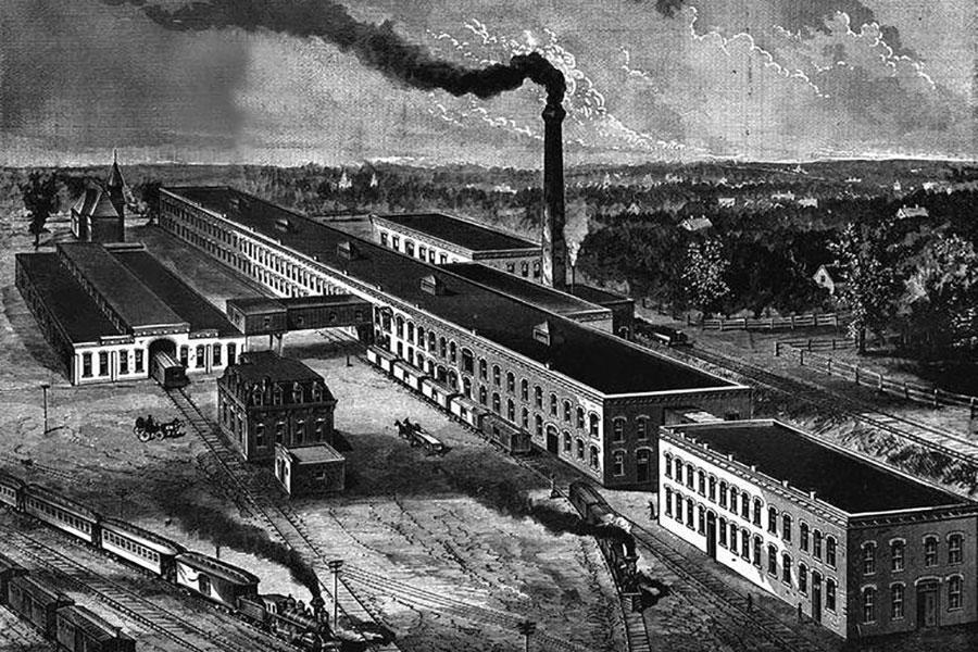 Заводи з виробництва колючого дроту