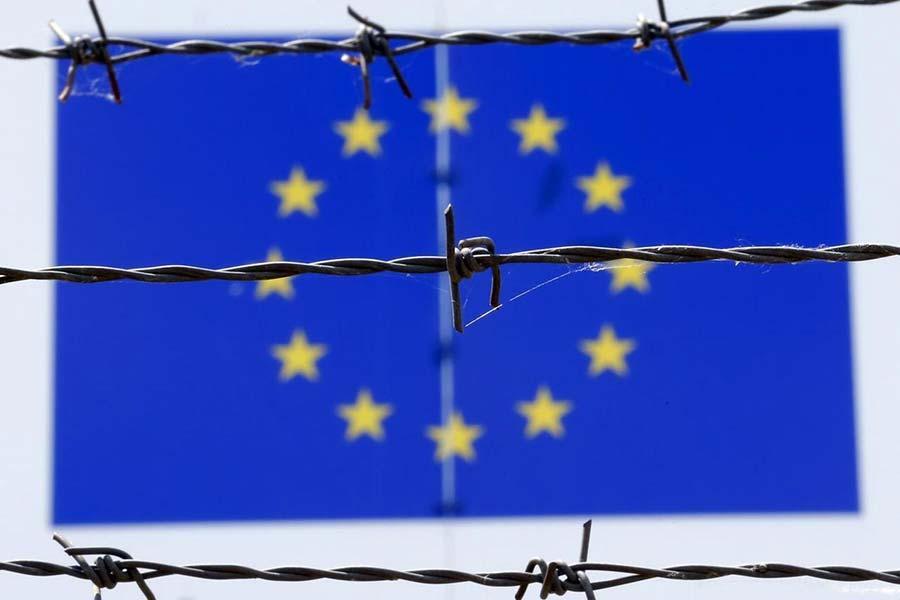 Колючий дріт в Європі