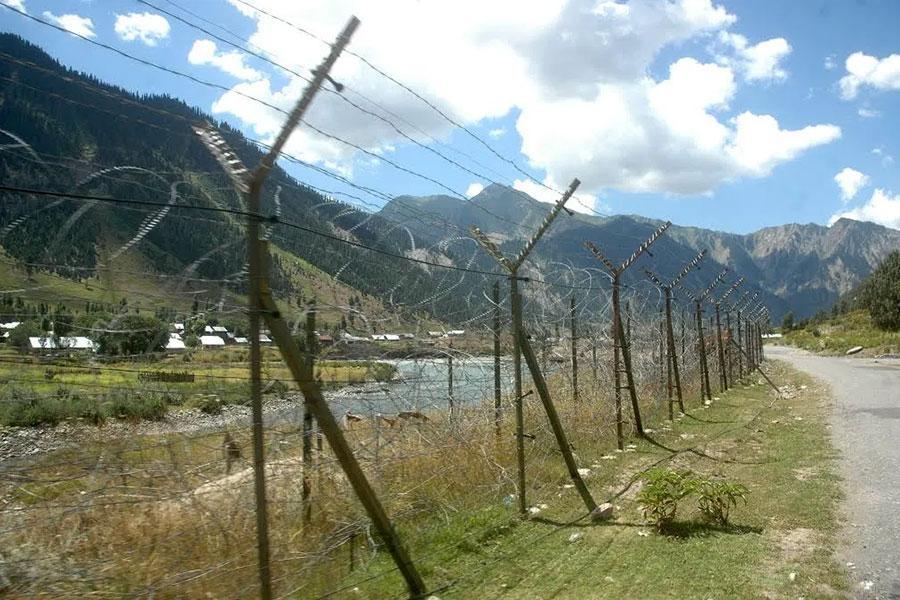 Проволока колючая в Кашмире