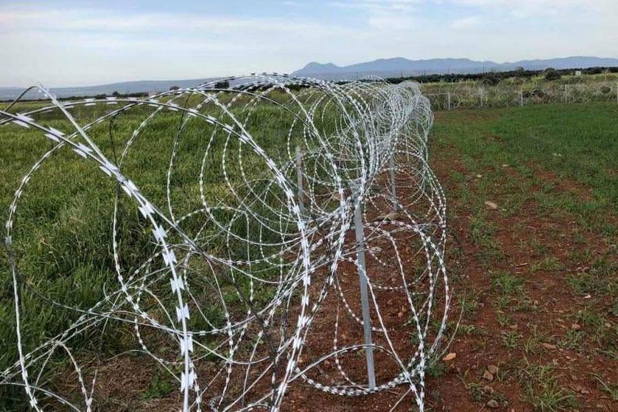 Новая колючая проволока на Кипре