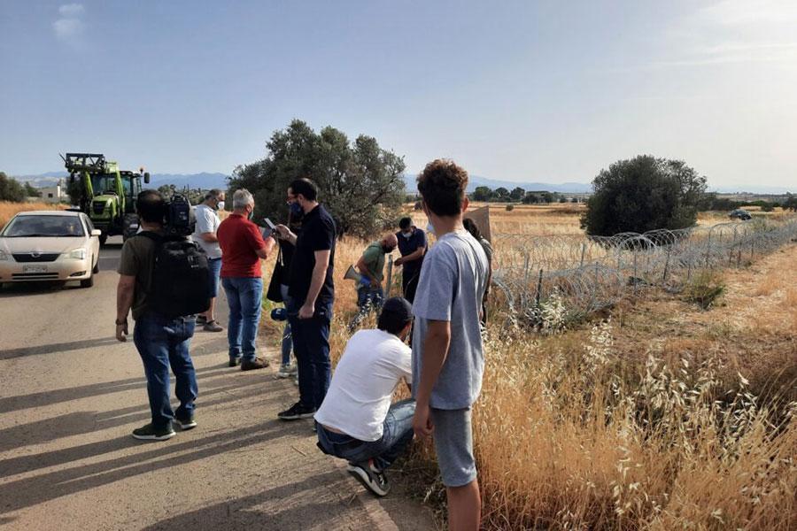 Фермери вимагають прибрати колючий дріт на Кіпрі