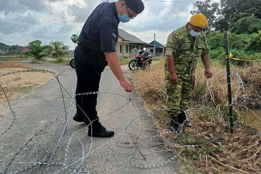 Інцидент з колючим дротом в Малайзії
