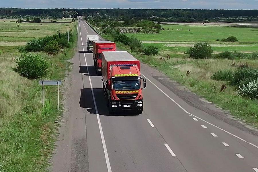 Колючий дріт з України доставлено в Литву
