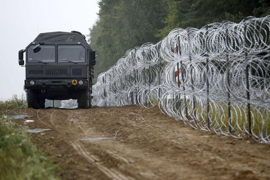 Граница Польши с Беларусью
